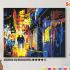Картина по номерам на холсте 50х40 см. «Ночная прогулка». TM Selfica 0 Preview
