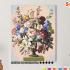 Картина по номерам на холсте 50х40 см. «Пышный букет». TM Selfica 0 Preview