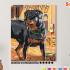 Картина по номерам на холсте 50х40 см. «Ротвейлер». TM Selfica 0 Preview
