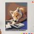 Картина по номерам на холсте 50х40 см. «Тяга к знаниям». TM Selfica 0 Preview