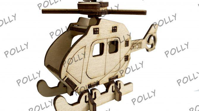 Конструктор «Вертолет Сапсан»
