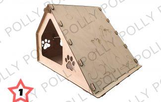 Конструктор «Домик для кошек№1»