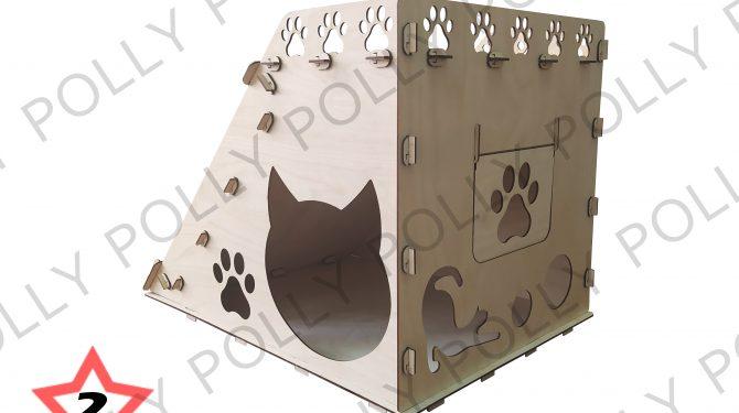 Конструктор «Домик для кошек №2» 1