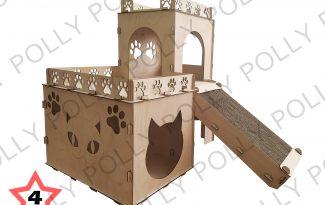 Конструктор «Домик для кошек №4»
