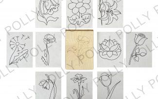 Многоразовая раскраска «Цветы»