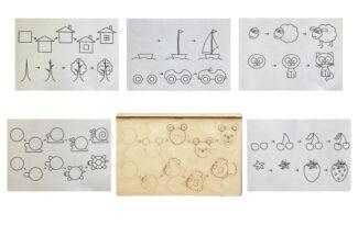 Многоразовые прописи (уроки рисования)