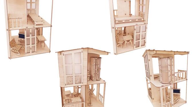 Конструктор «Кукольный домик «Фантазия» 0