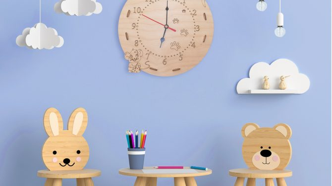 Конструктор «Часы Кошки-мышки» 2
