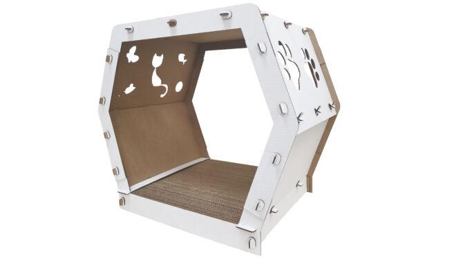 Конструктор «Домик для кошек «Царапки»